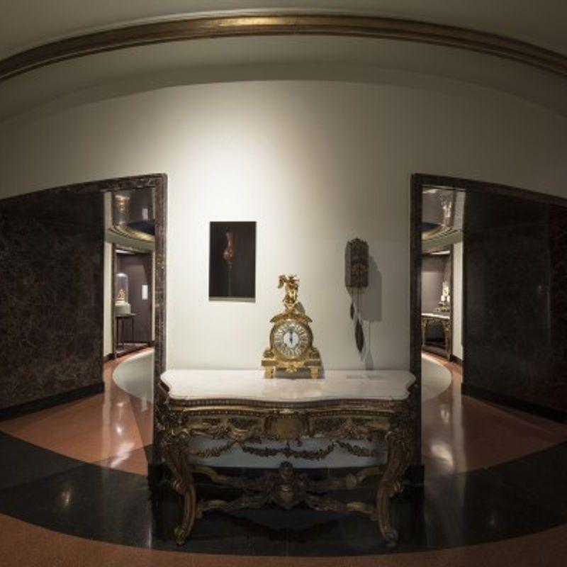 En el museo del reloj antiguo