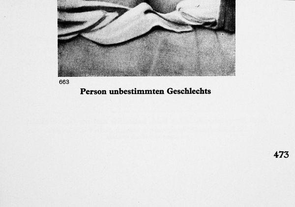 Person unbestimmten Geschlechts (Abstract Drag)