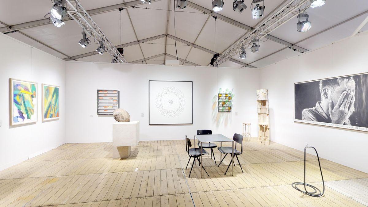 Exhibition for Enter Art Fair