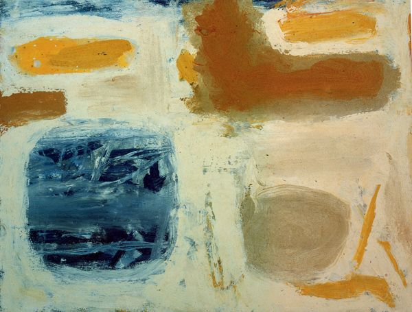Blue, Sand and Ochre