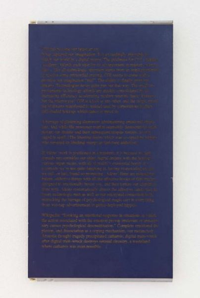 Untitled (wall text)