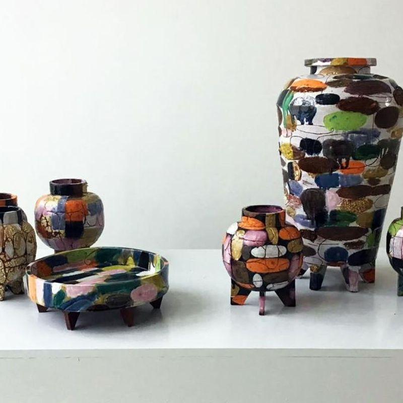 Ceramic Vessels & Painting