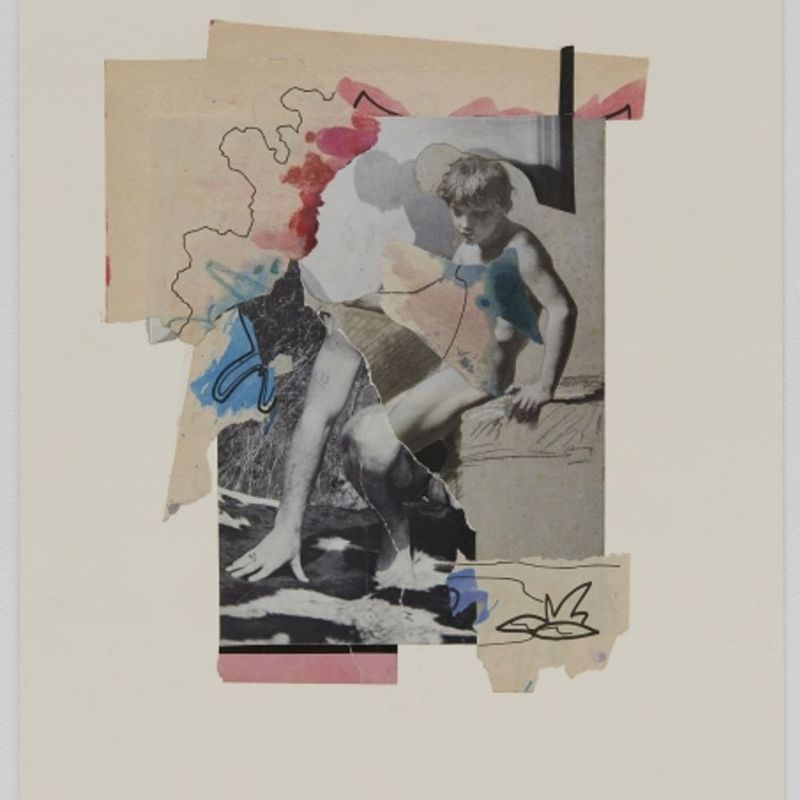 PHILIP - RENÉ - DOE, AND OTHER PAPER MONTAGES, 2016-2018
