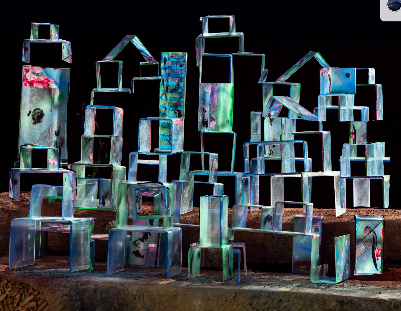 Electric Stacks  by Nico Krijno, Elizabeth Houston Gallery