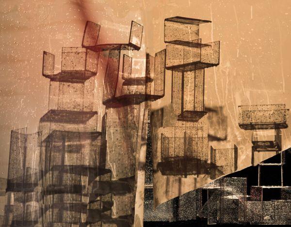 Wet Stacks by Nico Krijno, Elizabeth Houston Gallery