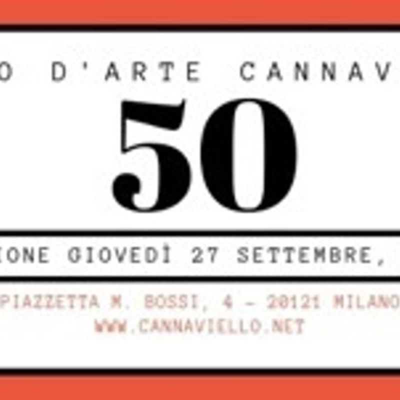Studio d'arte Cannaviello 1968/2018 Cinquant'anni di attività