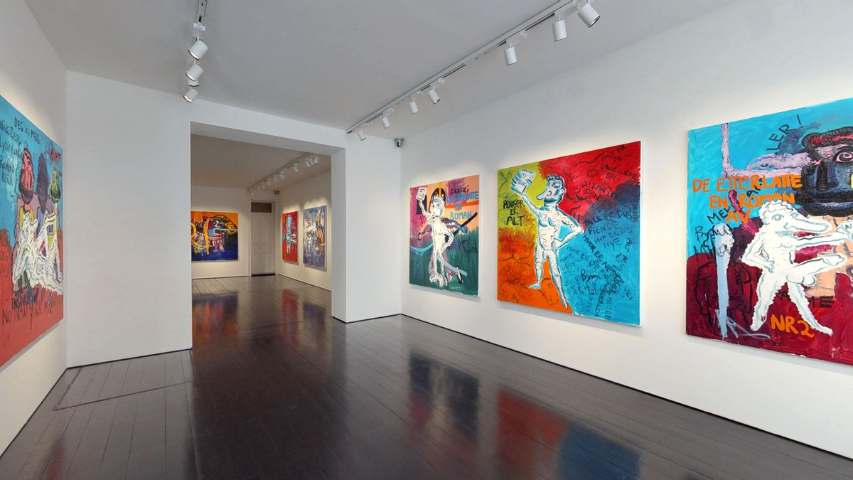 Bjarne Melgaard: New Novel Paintings