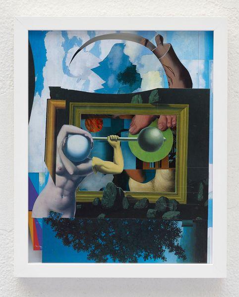 Ohne Titel (Uhu Schuhu) by Nic Hess, Philipp von Rosen Galerie