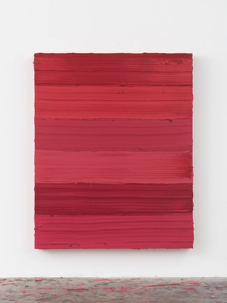 Untitled (Ruby Lake/Ideal Rose) by Jason Martin, Mimmo Scognamiglio Artecontemporanea