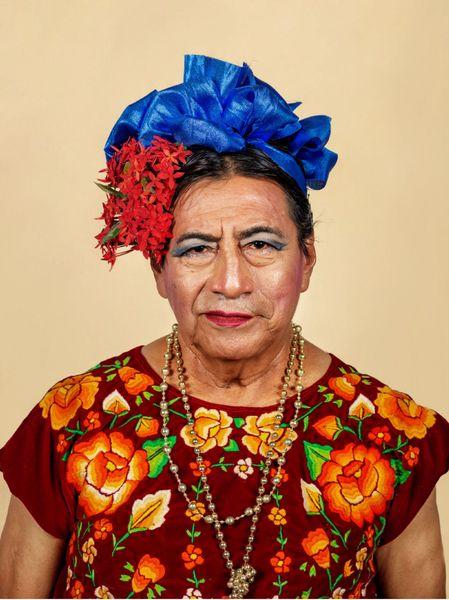 Muxe portrait #1, Juchitán de Zaragoza