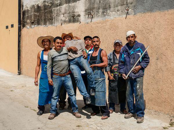 After Siqueiros, Oaxaca de Juárez