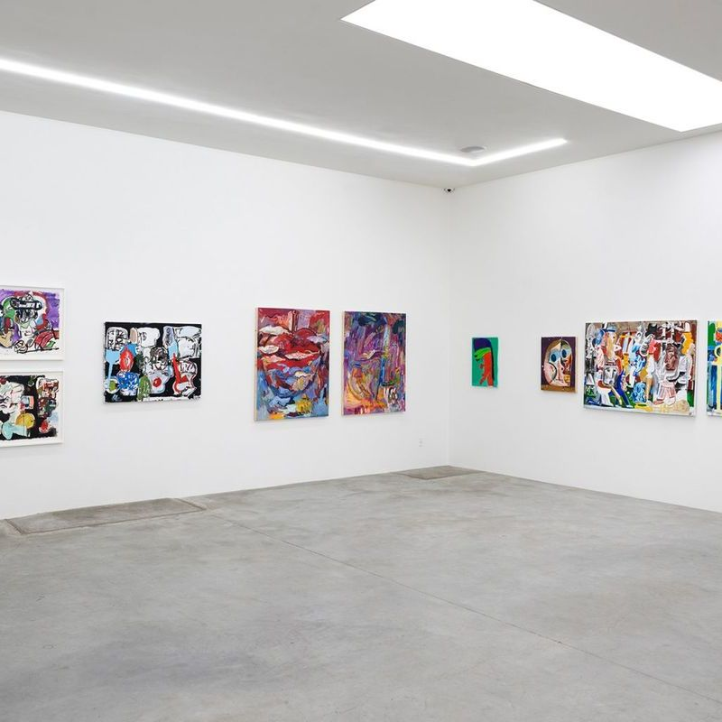 Peanuts – A group exhibition of ten painters