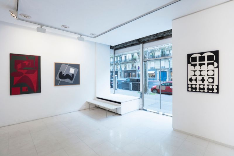 group show I mage of a collection,  14  historic artists of the gallery