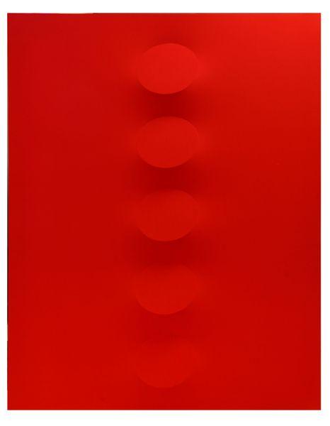 5 ovali rossi