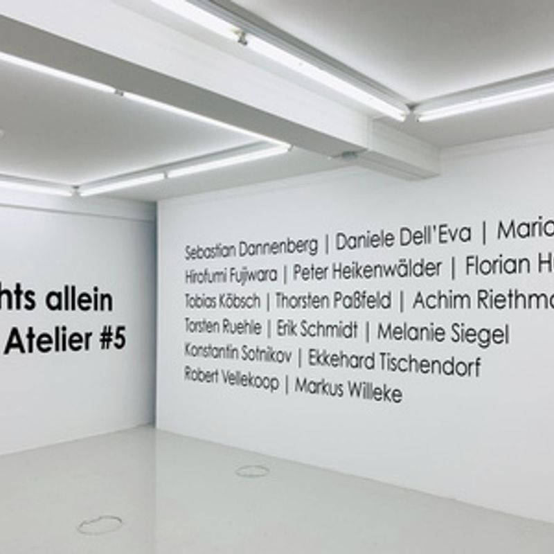 """""""Nachts allein im Atelier #5"""""""