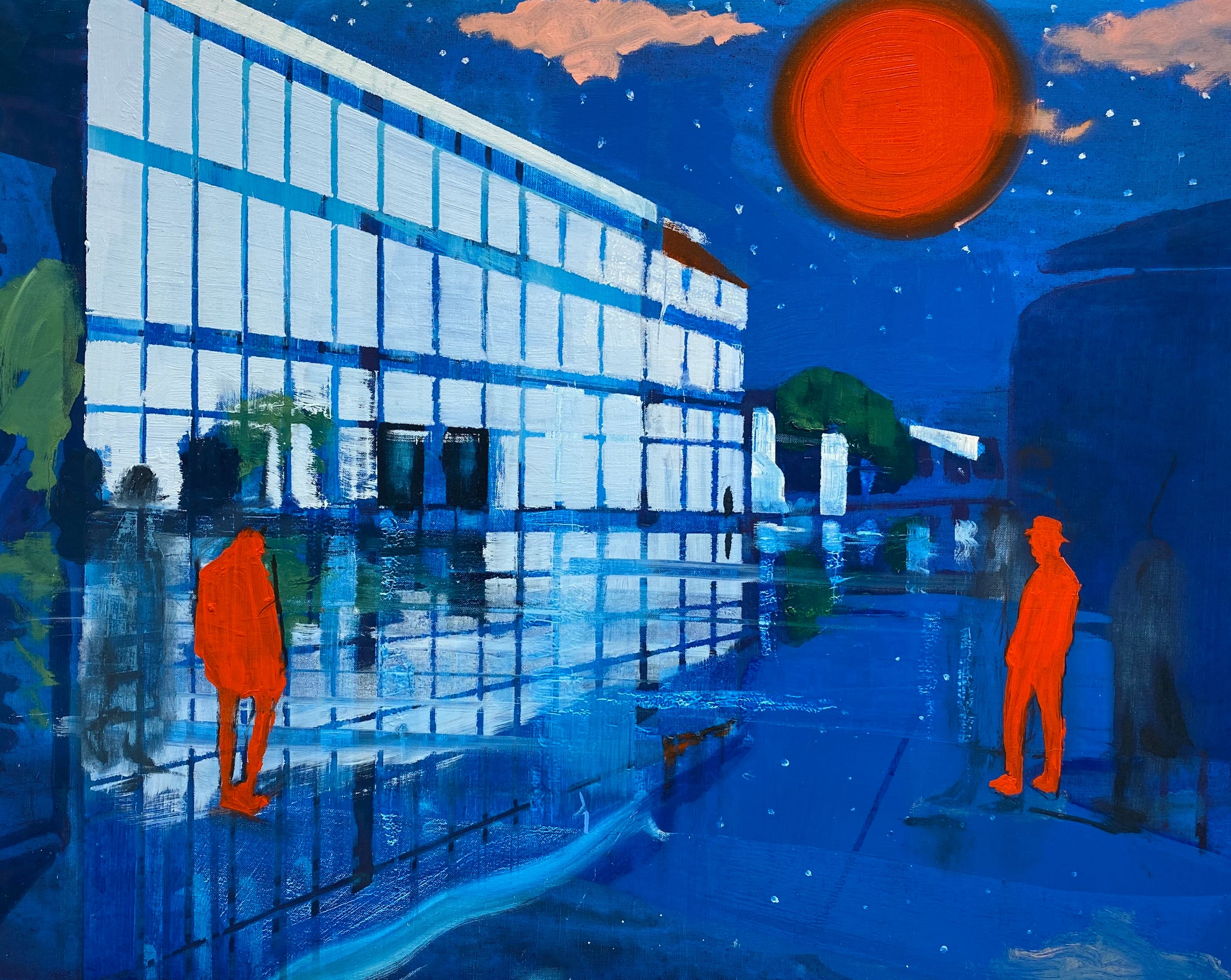 Red Sun by Kenneth Blom, Luisa Catucci Gallery