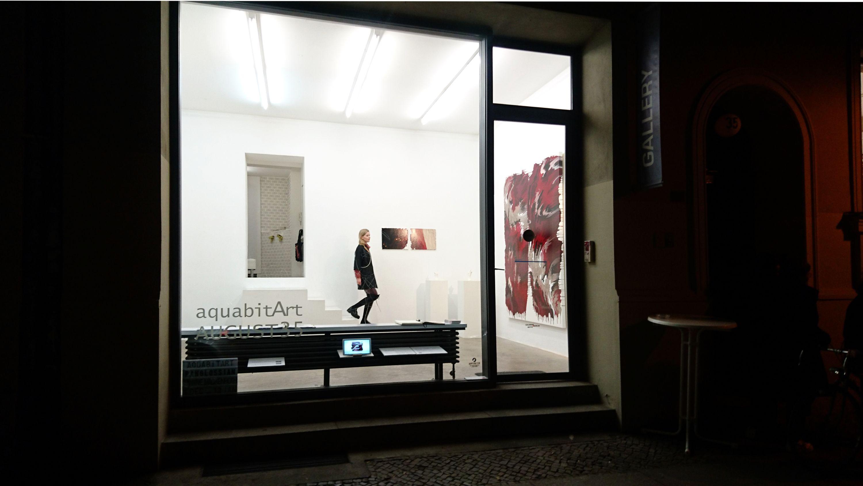 BLACK RED GOLDEN  760 No.1  by Janine Mackenroth, aquabitArt gallery | Berlin (4 of 4)