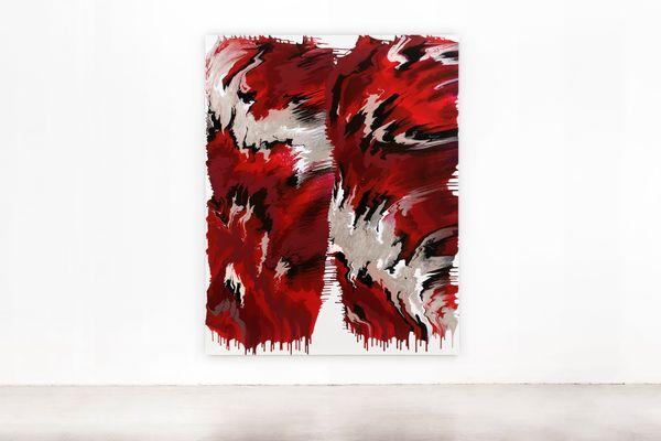 BLACK RED GOLDEN  760 No.1  by Janine Mackenroth, aquabitArt gallery | Berlin (3 of 4)