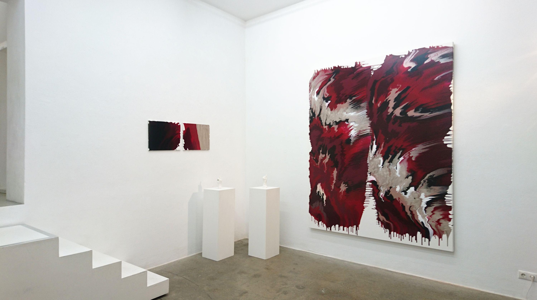 BLACK RED GOLDEN  760 No.1  by Janine Mackenroth, aquabitArt gallery | Berlin (2 of 4)