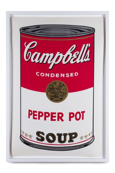 Pepper Pot, from Campbell's Soup I by Andy Warhol, Tommaso Calabro Gallery