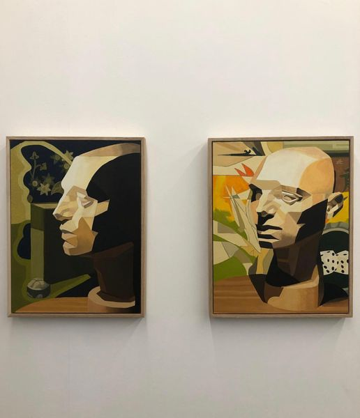 Series of 3 self portraits
