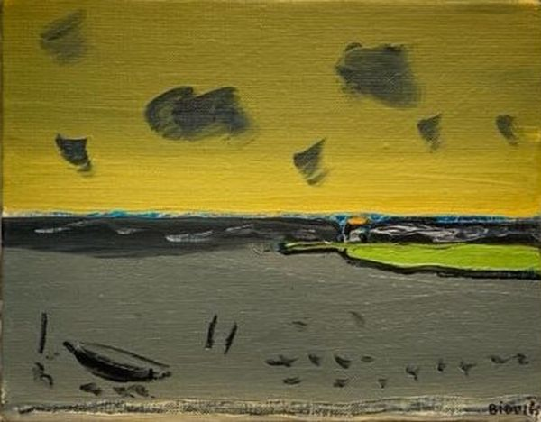 Un soir d'orage by Vincent Bioulès, Galerie La Forest Divonne | Paris
