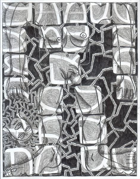 Golem ALEPH by Benjamin Degen, Galleria Anna Marra