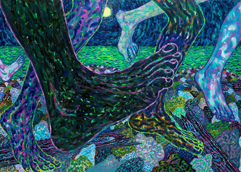 Night Move by Benjamin Degen, Galleria Anna Marra