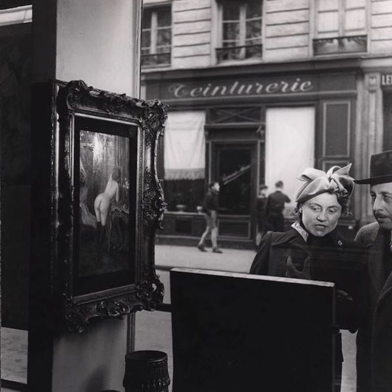 FRENCH PHOTOGRAPHY: VINTAGE WORKS FROM THE 1920'S TO 1960'S