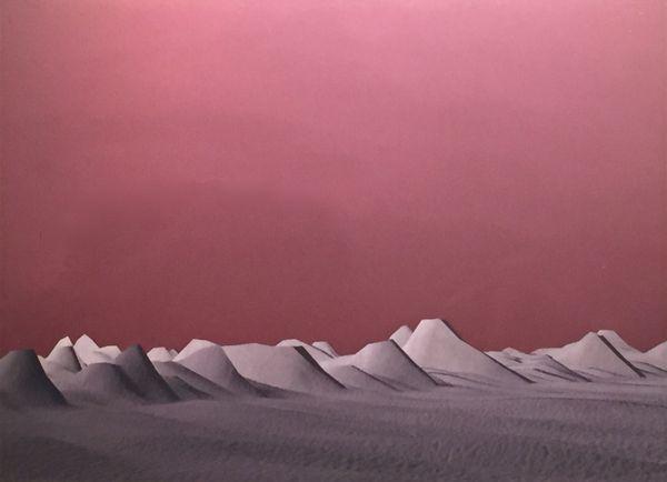 Sonic landscape (Exploration n°0402) by Mauren Brodbeck, Lasgalerie