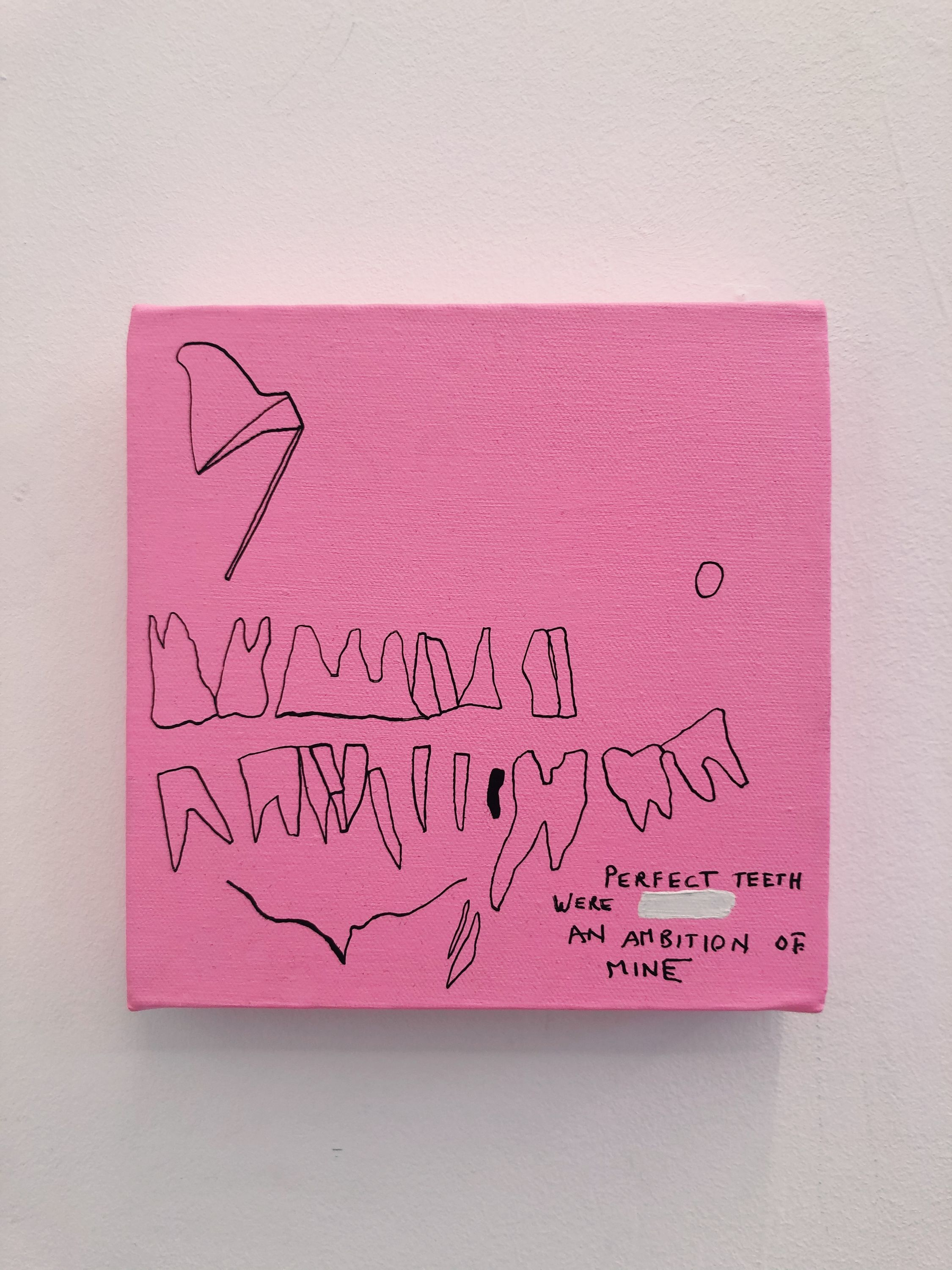 Perfect Teeth were an ambition of mine by Lei Saint James, Valerius Gallery