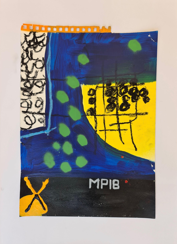 Green Dots by Martin Paaskesen, Valerius Gallery