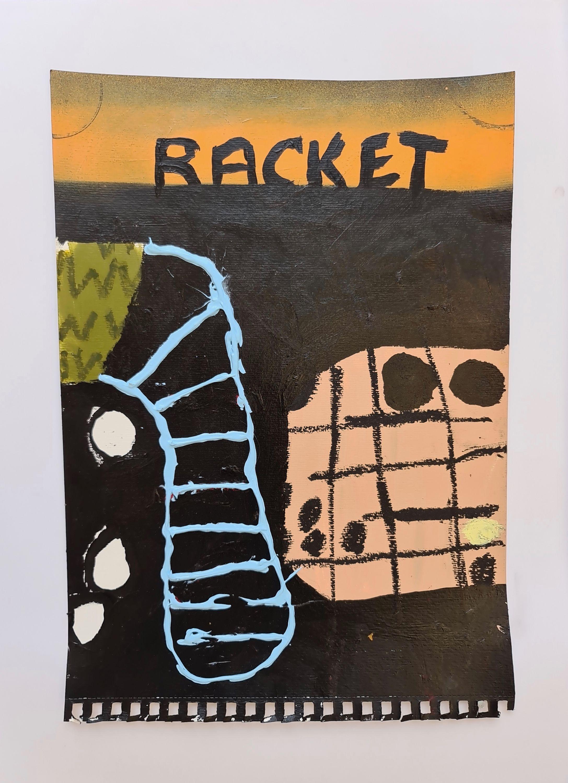 Racket by Martin Paaskesen, Valerius Gallery