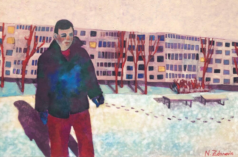 Welcome to Krasnūcha by Nina Zdanovic, Bougie Art Gallery