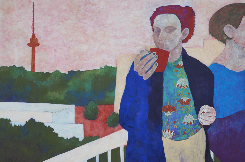Almost Our Balcony by Nina Zdanovic, Bougie Art Gallery