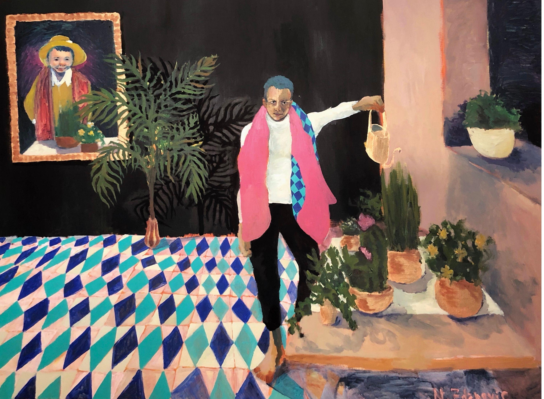 Alberto by Nina Zdanovic, Bougie Art Gallery