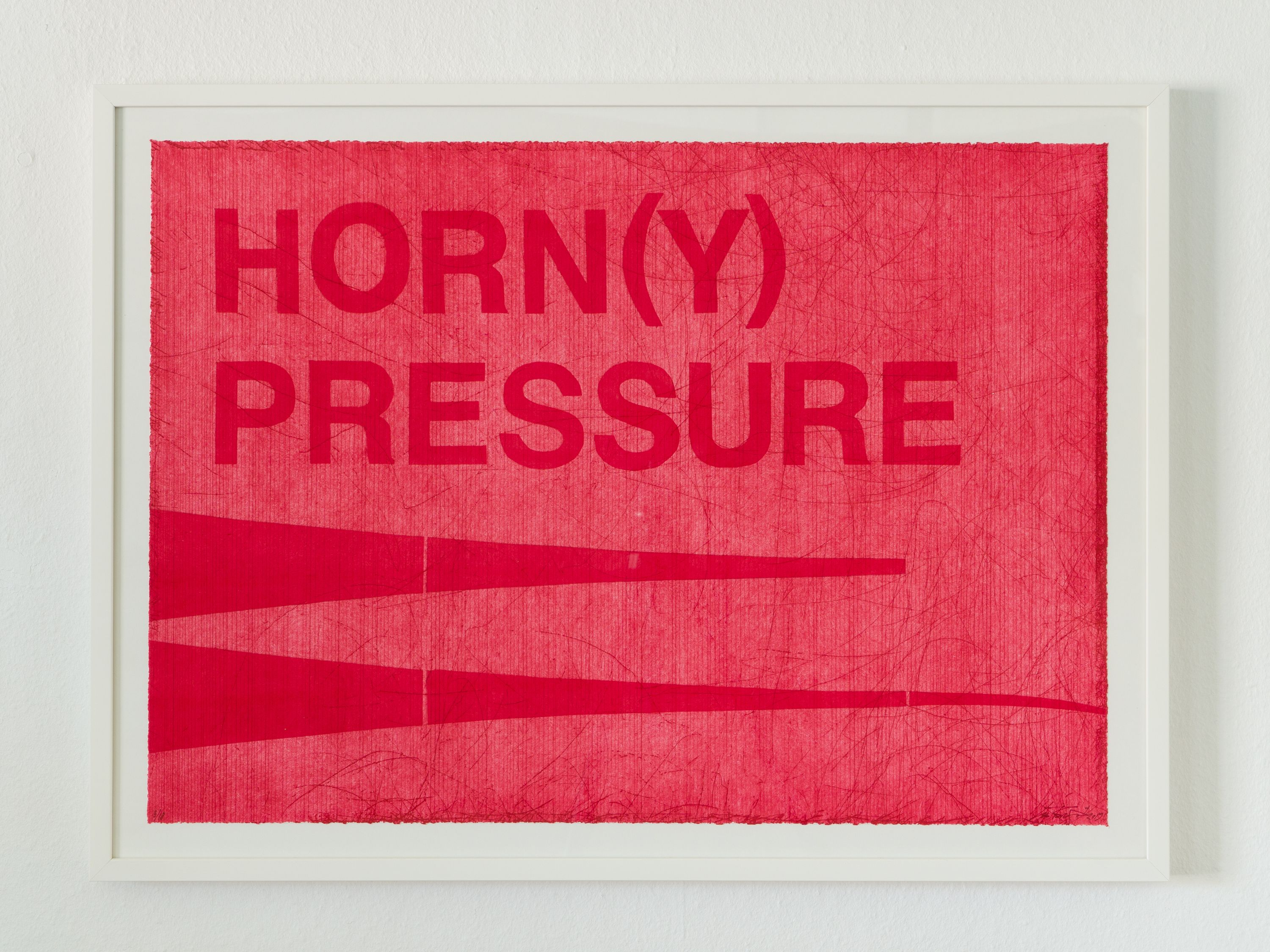 HORN(Y) PRESSURE by Lea Porsager, ADL