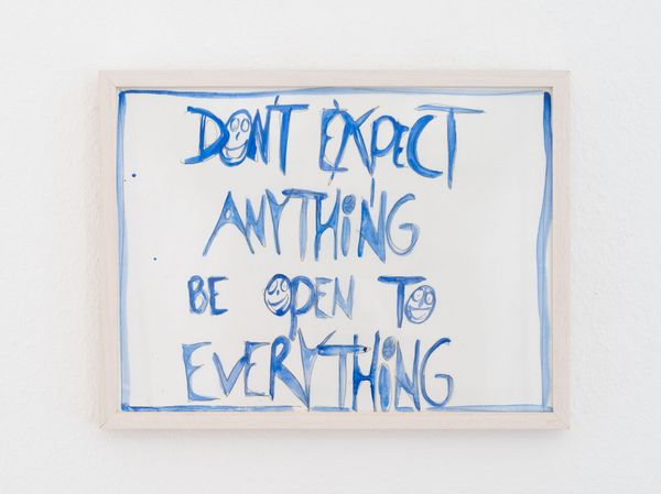 Don't Expect Anything be Open to Everything by Jeppe Hein, ADL