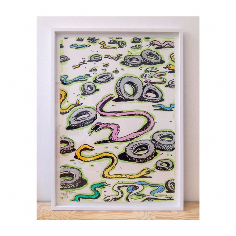 Snakes & Tyres by Armen Eloyan, Olivier Verhellen