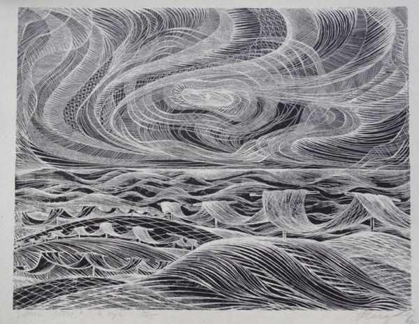 Mūsu jūra by Dzidra Ezergaile, Kerels