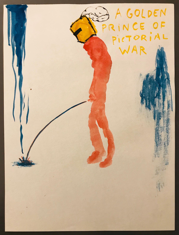 A Golden Prince of Pictorial War by Walter Swennen, Wellsyke