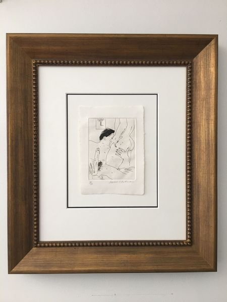 An Erotic Etching by David Hockney, vidaralida (2 of 2)