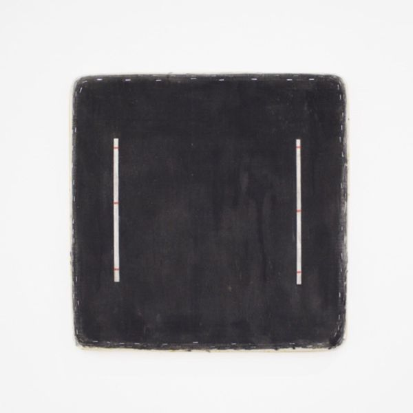 Black Square with 8 Lines by Otis Jones, Lars Holst