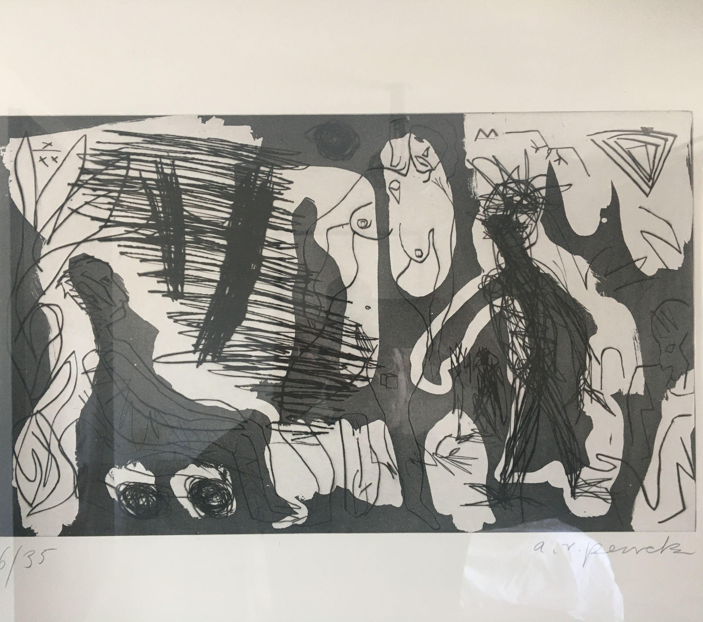 Westerlebnisse by A. R. Penck, Edwin Visser (6 of 10)