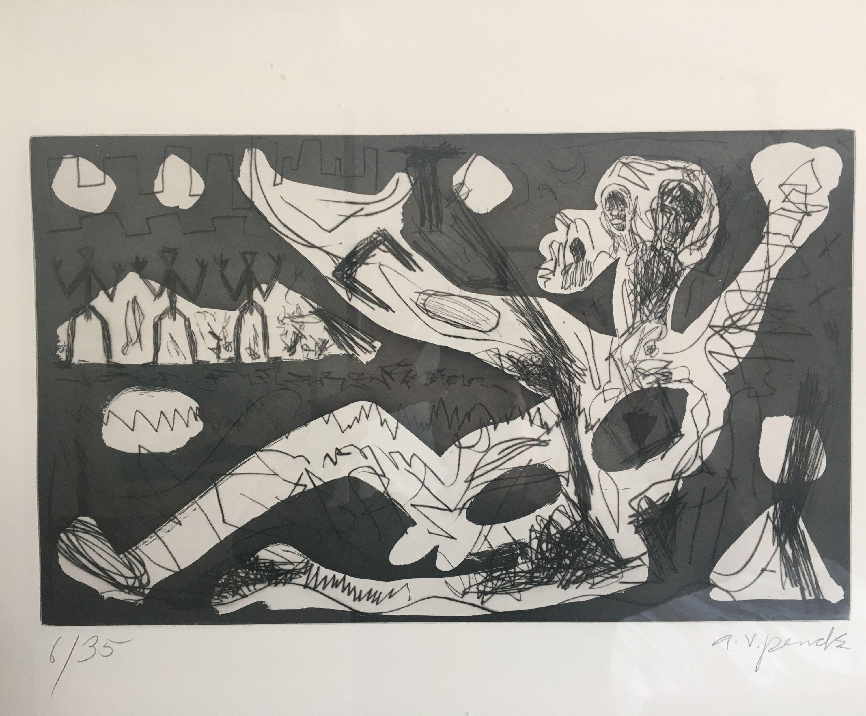 Westerlebnisse by A. R. Penck, Edwin Visser (7 of 10)