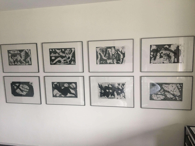 Westerlebnisse by A. R. Penck, Edwin Visser (10 of 10)