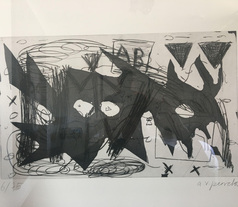 Westerlebnisse by A. R. Penck, Edwin Visser (5 of 10)