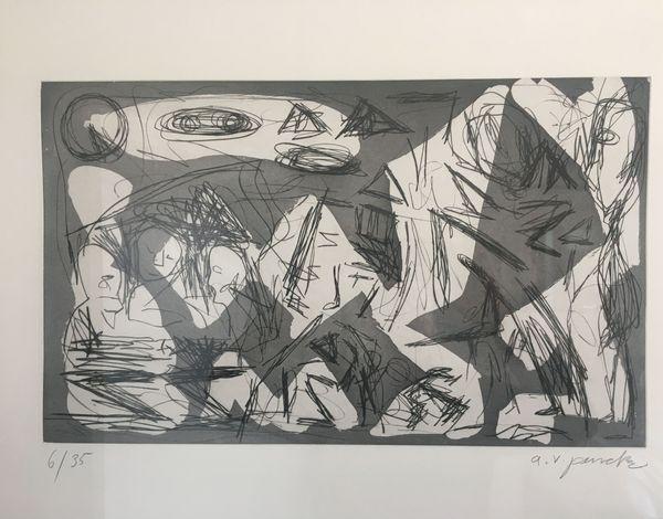Westerlebnisse by A. R. Penck, Edwin Visser (8 of 10)