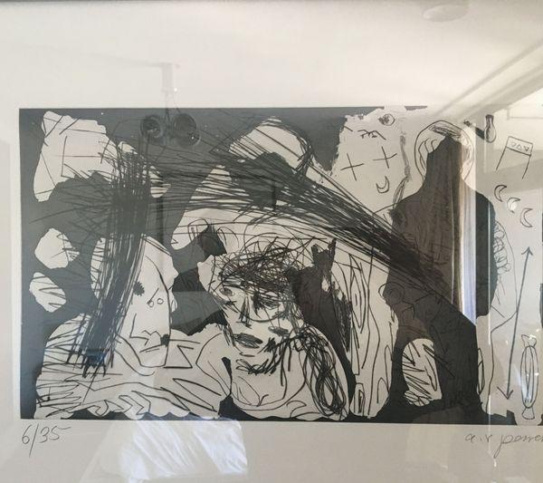 Westerlebnisse by A. R. Penck, Edwin Visser (4 of 10)