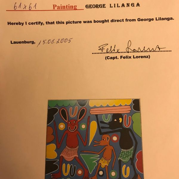 Pittura by George Lilanga, Fausto Gasparetto (3 of 3)